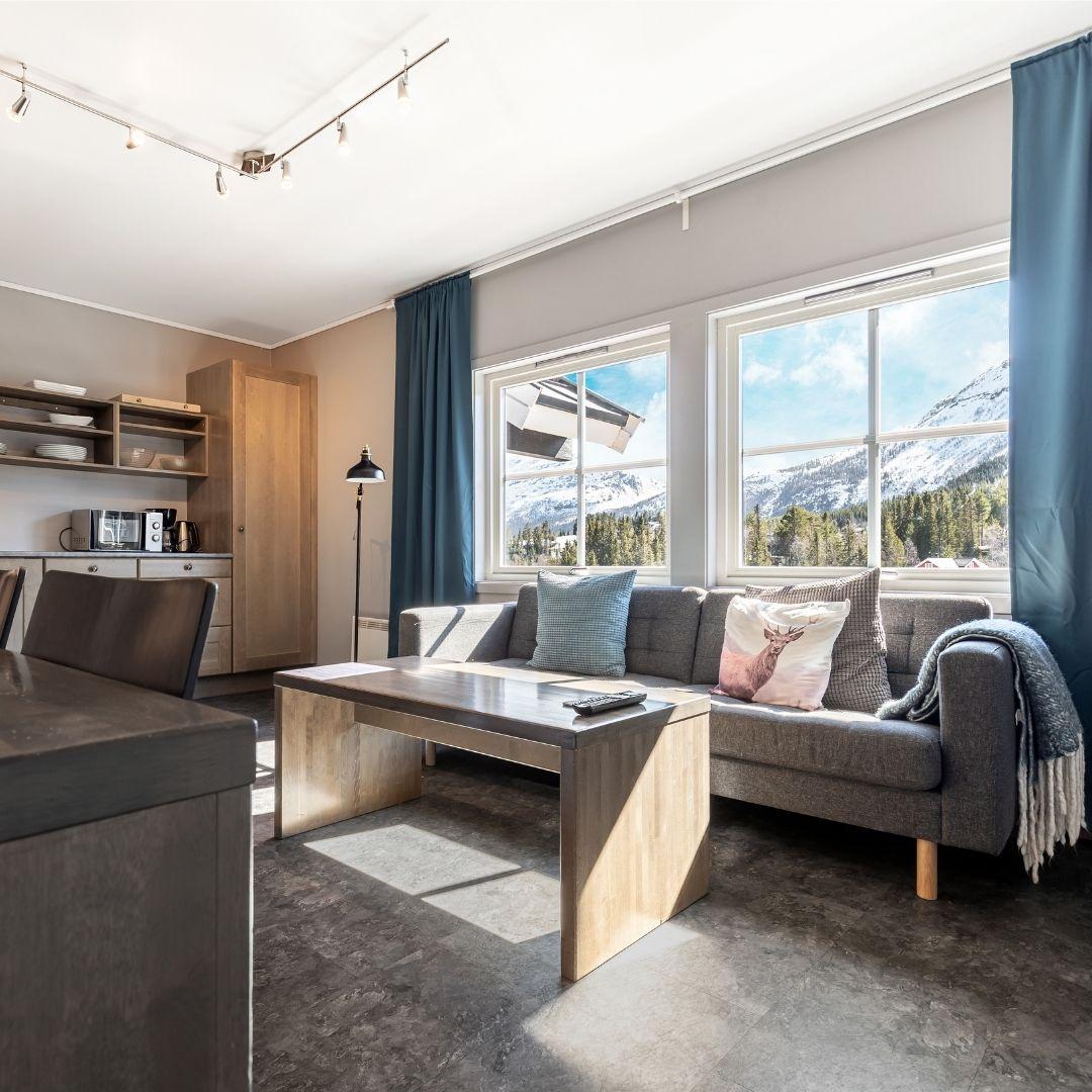 Stue i Hemsedal Cafe Skiers lodge